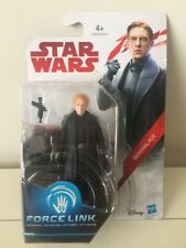 "Star Wars The Last Jedi Force Link General Hux 3.75"" Action Figure Hasbro Disney"