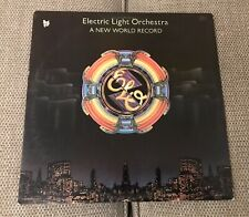 ELO Electric Light Orchestra A New World Record Original 1976 Embossed Vinyl LP