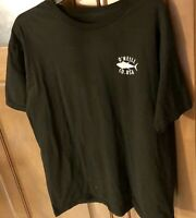 Men's O'Neill Classic T-Shirt Black Size Large 100% Cotton Short Sleeve