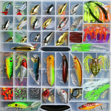 Fishing tackle boxes full of 168 LURES & TONS OF FISHING ITEMS+many more NEW CA