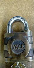 Vintage Yale padlock key included
