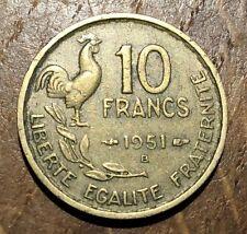 PIECE DE 10 FRANCS GUIRAUD 1951 B (45)