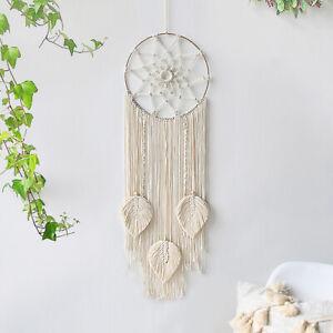 Wall Hanging Macrame Tapestry Woven Handmade Home Art Decor Room Tassel Ornament