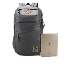 Arctic Hunter Black Travel School Rucksack,Waterproof Multipurpose Notebook For