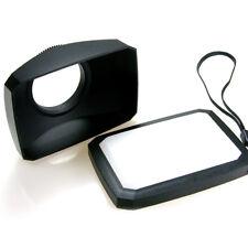 52mm 16:9 wide angle vis mont vidéo caméra lens hood white balance cap