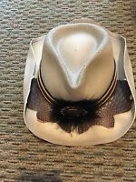 Western Hat---Dorfman Pacific Company Authentic SCALA WESTERN Hat One Size