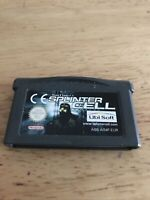 Tom Clancy's Splinter Cell (Nintendo Game Boy Advance, 2003) Working Game Only
