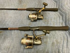 Ugly Stick spinning rods with Penn PowerGraph reels, pair