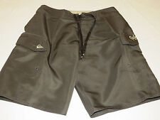 Quiksilver Manic SLD Brown board shorts swim trunks boardshorts 28 surf NEW Mens