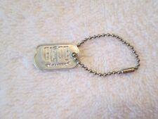 New listing Vintage 1964 Hasbro G.I. Joe Dog Tag - Marked Bead Chain