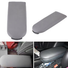 Grey Leather Center Console Armrest Cover Lid Fits For VW Jetta Beetle Golf MK4