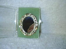 Vintage Miniature Dollhouse Gold Tone Wall Mirror Chrysnbon Judy Berman NIB 1:12