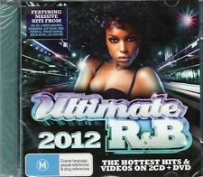 Ultimate R&B 2012 (2 x CD + DVD) Pitbull/Rihanna/Nicki Minaj/Ne-Yo/Taio Cruz/Nas