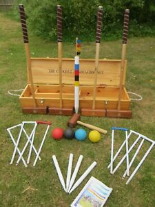 George Wood Garden Games The Croquet Association Croquet Set