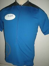 Men's Blue Short Sleeve Tulsa Area Adventure Racers Cycling Bicycle Jersey