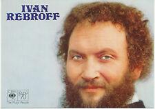 IVAN REBROFF CBS Farbfoto ohne Signatur aus den 70er