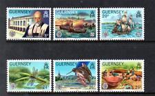 GUERNSEY MNH 1982 SG253-258 CENTENARY OF LA SOCIETE GUERNESIAISE