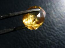Cuarzo Amarillo 12.65 Cts Certificado EGL Natural Quartz Gemstone Oval Cut