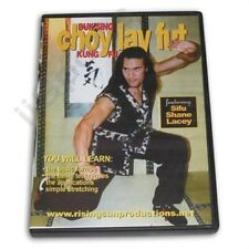 Chinese Buk Sing Choy Lay Fut Kung Fu Techniques & Forms Dvd Shane Lacey Rs70