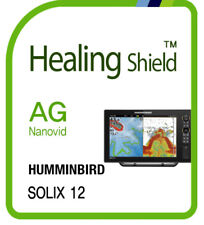 For HUMMINBIRD SOLIX 12 , Anti Glare Matte LCD Screen Protector Outdoor Film