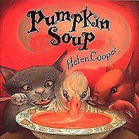 Pumpkin Soup Helen Cooper Scholastic