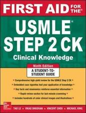 New-First Aid for the USMLE Step 2 CK by by Tao Le 9ed