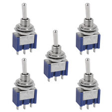5x Mini Toggle Switch for Boat Car Dashboard Model Railway Arduino SPDT On-On