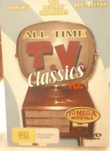 TV classics DVD 10 Mega Movie pack Bonanza, Beverly hilbillies, Red Skelton