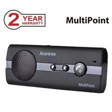 Avantree 10BP Kit mains libres Bluetooth 4.0 Voiture avec instruction GPS/Musiqu