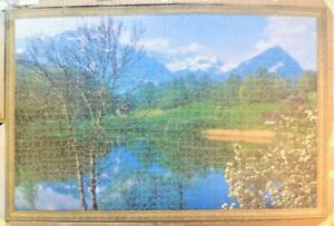 Vintage 1600 piece Victory Gold Box Wooden Jigsaw Puzzle.