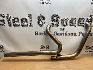 Genuine Harley-Davidson Softail Exhaust Header Pipe Assembly 65600254