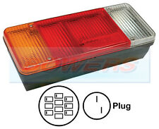 IVECO EUROCARGO DAILY TIPPER REAR TAIL LIGHT LAMP UNIT LEFT HAND L/H LH NEARSIDE