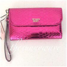 Victoria's Secret Tech Clutch Wristlet Case Purse Wallet iPhone 6/7 PINK python