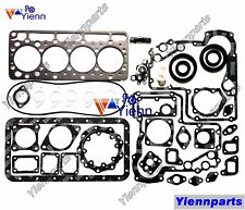 For Kubota V1100 Upper & Lower Head Gasket Kit Set Fit AICHI SP090 Diesel Engine