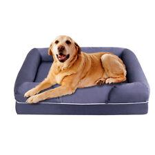 Comfortable Solid Memory Foam Dog Sofa Bed