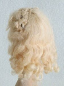 Bravot Blond Mohair Wig-French Fashion or All Bisque-size 5