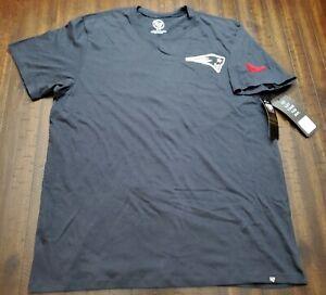 47 Brand New England Patriots Shirt Mens XL Blue