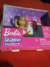BARBIE SKIPPER BABYSITTERS INC BABY WITH BOTTLE & BLANKET NIB