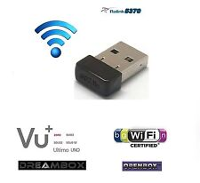 WiFi Wireless USB Adapter rt5370 für OPENBOX VU + Zero Solo Uno DUO 150 Mbps N/G/B