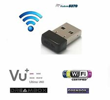 Wifi Wireless USB Adapter RT5370 for Openbox VU+ Zero Solo Uno Duo 150Mbps N/G/B