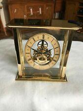 Bulova Castine Skeleton Clock