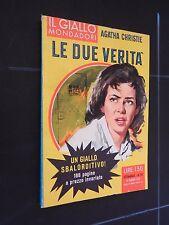 Il Giallo Mondadori  n 541 del 1959 le due verità Agatha Christie edicola