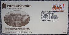 Fairfield Croydon 21st Birthday British Fairs Postal First Day Cover FDC 1983