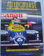 Autocourse Grand Prix Annual 1987-88 with good DW Motorsport Formula 1 2 3000 +