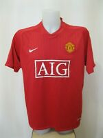 Manchester United 2007/2008/2009 Home Size XL Nike football shirt jersey soccer