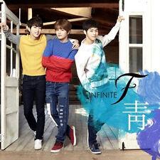 INFINITE F-[靑] 1st Single Album CD+2p Photo Card K-POP L Lee Sung-Jong Sung-yeol