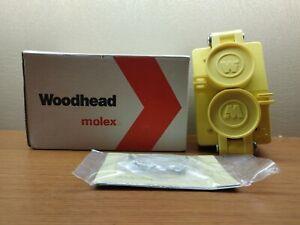 molex Woodhead 60W34DPLX Watertite Duplex Flip Lid 2 Pole/3 Wire NEMA 7-15 277V