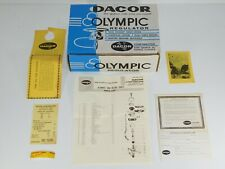 Vtg Dacor Scuba Diving Olympic Regulator Snorkeling Swim Dive Factory Box Only