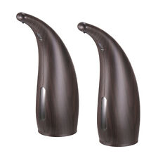 2pcs 300ML Touchless Hands Free Liquid Sanitizer IR Sensor Auto Soap Dispenser