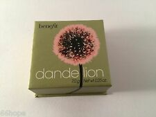 Benefit dandelion brightening finishing powder Full Size 7g/0.25oz with Blush